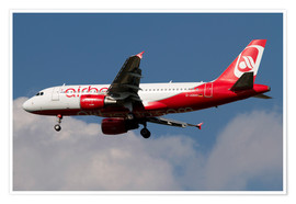 Póster Airbus A320 of Air Berlin