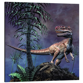 Cuadro de aluminio  Monolophosaurus was a theropod dinosaur from the Middle Jurassic period. - Philip Brownlow