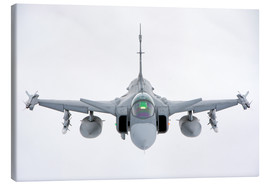 Lienzo  A Hungarian Air Force JAS-39 Gripen over Lithuania. - Giovanni Colla