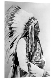 Metacrilato  Sioux Chief Sitting Bull - John Parrot