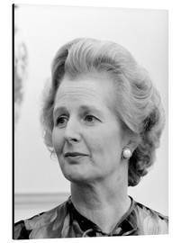 Cuadro de aluminio  Vintage photo of Margaret Thatcher. - John Parrot