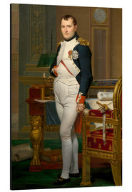 Cuadro de aluminio  Vintage painting of The Emperor Napoleon in his study. - John Parrot