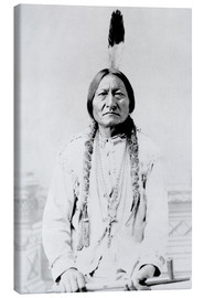 Lienzo  Chief Sitting Bull