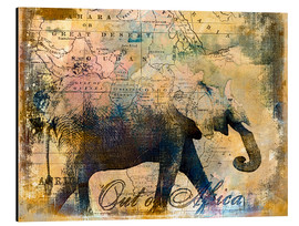 Aluminio-Dibond  Out of Africa - Andrea Haase