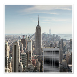 Póster  Manhattan skyline with Empire State building, New York city, USA - Matteo Colombo
