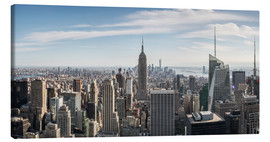 Lienzo  Manhattan skyline with Empire State Building - Matteo Colombo
