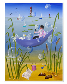 Póster  Resting by the Sea - Irene Brandt