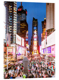 Metacrilato  Times square at night illuminated by neon lights, New York city, USA - Matteo Colombo