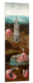 Cuadro de PVC  The Last Judgement, the earthly paradise - Hieronymus Bosch