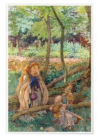 Póster  The Introduction - Eleanor Fortescue-Brickdale