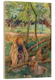 Cuadro de madera  The Introduction - Eleanor Fortescue-Brickdale