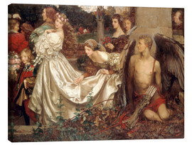 Lienzo  The Uninvited Guest - Eleanor Fortescue-Brickdale
