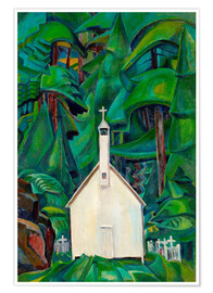 Póster  Indian Church - Emily Carr
