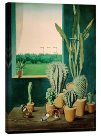 Lienzo  Cacti and semaphores - Georg Scholz