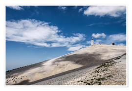 Póster Mont Ventoux in Provence (France)