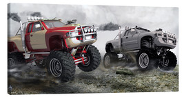 Lienzo  Monster Truck - Kalle60