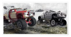Póster  Monster Truck - Kalle60
