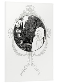 Cuadro de PVC  pierrot of the minute - Aubrey Vincent Beardsley