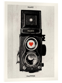 Cuadro de metacrilato  Vintage retro camera photographic art print - Nory Glory Prints