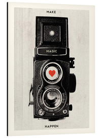 Aluminio-Dibond  Vintage retro camera photographic art print - Nory Glory Prints
