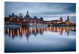 Philipp Dase - Dresden old town at the blue hour