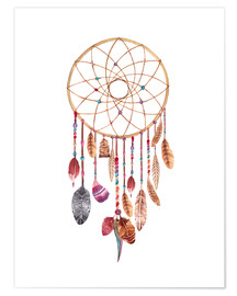Póster  Dreamcatcher - Nory Glory Prints