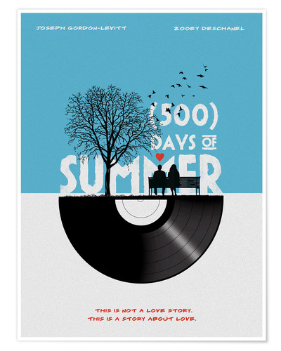 Póster 500 days of summer