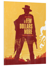 Forex  For a few dollars more western movie inspired art print - Golden Planet Prints