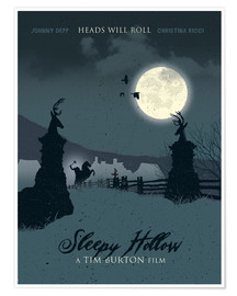 Póster Sleepy Hollow (inglés)