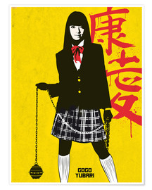 Póster Gogo Yubari, Kill Bill