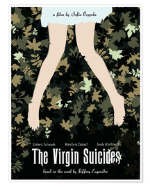 Póster The virgin suicides movie inspired art print