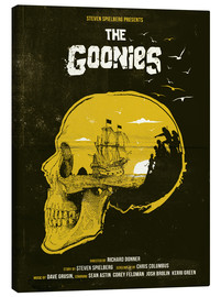 Lienzo  Los Goonies - Golden Planet Prints