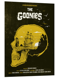 Forex  The Goonies movie inspired skull never say die art - Golden Planet Prints