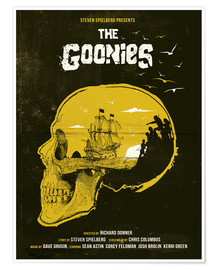 Póster  Los Goonies - Golden Planet Prints