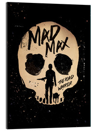 Cuadro de metacrilato  Mad Max the road warrior movie inspired art print - Golden Planet Prints