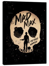 Lienzo  Mad Max the road warrior movie inspired art print - Golden Planet Prints