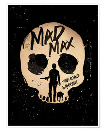 Póster Mad Max the road warrior movie inspired art print