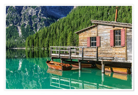 Póster Braies - South Tyrol, Italy