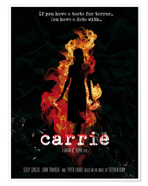 Póster Carrie (ingleés)