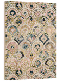 Micklyn Le Feuvre - Art Deco Marble Tiles in Soft Pastels