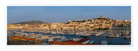 Póster  marseille panoramic - Vincent Xeridat