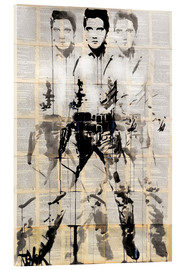 Cuadro de metacrilato  Elvis after Andy - Loui Jover