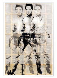 Póster  Elvis after Andy - Loui Jover