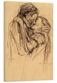 Madera  The kiss - Käthe Kollwitz