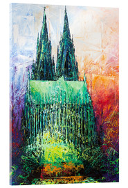 Metacrilato  Cologne Cathedral Abstract - Renate Berghaus