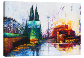 Lienzo  Cologne Cathedral Skyline - Renate Berghaus