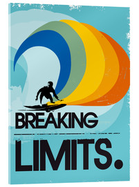 Cuadro de metacrilato  Surfero, Breaking limits - 2ToastDesign