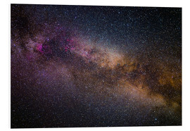 Cuadro de PVC  Milky Way - The starry sky - Benjamin Butschell