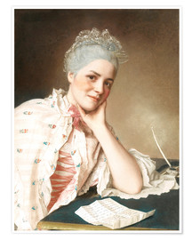 Póster MADEMOISELLE LOUISE JACQUET