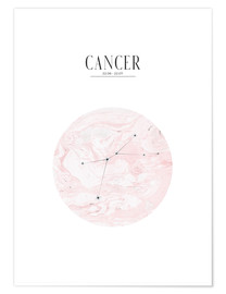 Póster  CANCER | CANCER - Stephanie Wünsche